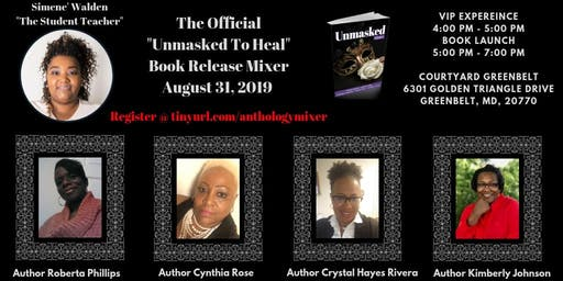 Unmasked Anthology Book Release Mixer