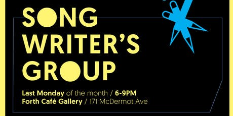 Winnipeg Music Project Songwriter's Group - Full Series Registration tickets