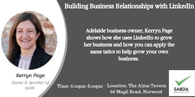 SABDA  Networking Event - Building Business Relationships with LinkedIn