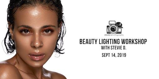 Studio Beauty Lighting w/ Stevie D. - Dallas TX