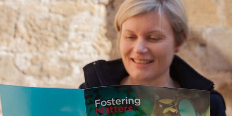 Find out about becoming a Foster Parent tickets