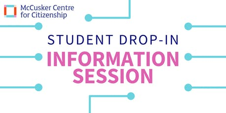 Student Drop-in Information Session tickets