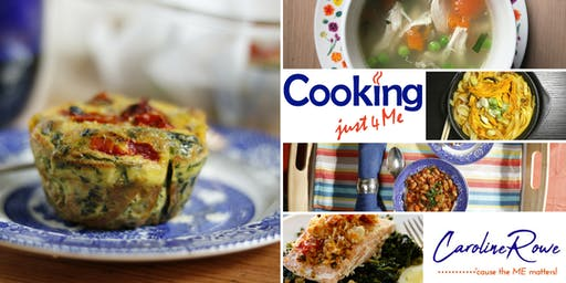 Cooking just4Me Workshop. Learn how small households can save time, money and waste less