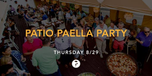Patio Paella Party