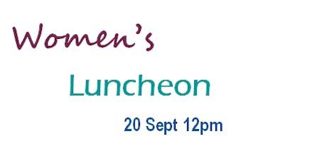 Women's Luncheon Sept 2019 tickets