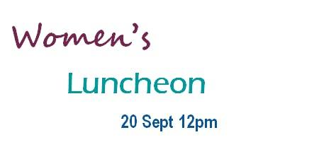 Women's Luncheon Sept 2019