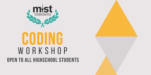 MIST Toronto Coding Workshop