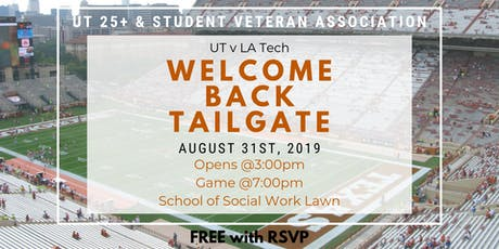Welcome Back BBQ/Tailgate 2019 tickets