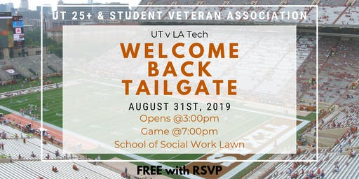 Welcome Back BBQ/Tailgate 2019
