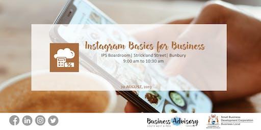 Instagram Basics for Business | Bunbury