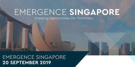 Emergence Singapore tickets
