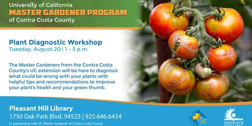 Master Gardeners Plant Diagnostic Workshop