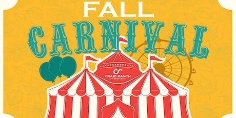 Fall Carnival tickets