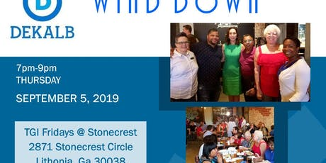 DeKalb Dems Wind Down tickets