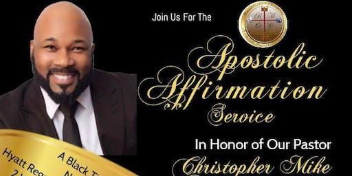 Apostolic Affirmation Banquet
