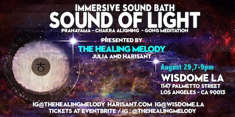 Sound of Light: Pranayama | Chakra Aligning | Gong Meditation tickets