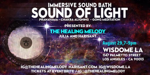 Sound of Light: Pranayama | Chakra Aligning | Gong Meditation