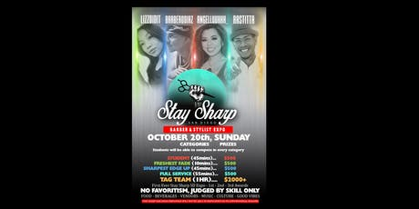 Stay Sharp Barber Expo tickets