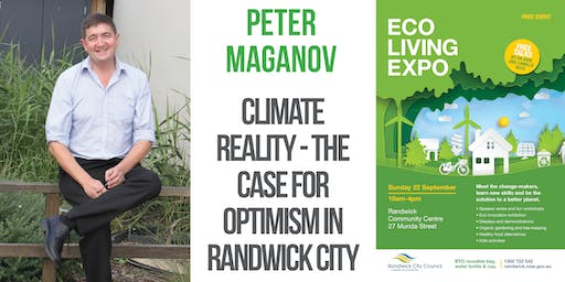 Climate Reality - the case for optimism in Randwick City