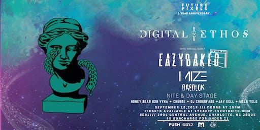 Future Pixels 1 YEAR: Digital Ethos+Eazybaked+Mize+Dredlok 9/13
