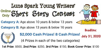2020 Young Writers' Online Short Story Competition (Online Only)