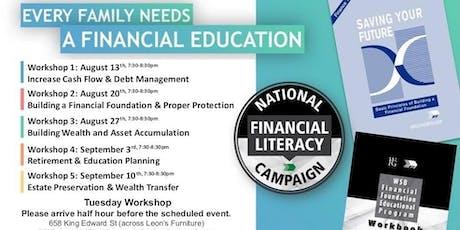 Financial Education Workshop - Tuesday Workshop tickets