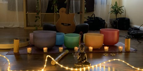 SOUND HEALING Crystal Bowls Soothing Meditation, Reiki & Massage  tickets