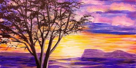 Paint Wine Denver Sunset Tree Fri Sept 20th 6:30pm $35 tickets