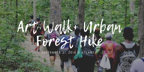 Art walk + Urban Forrest Hike  tickets