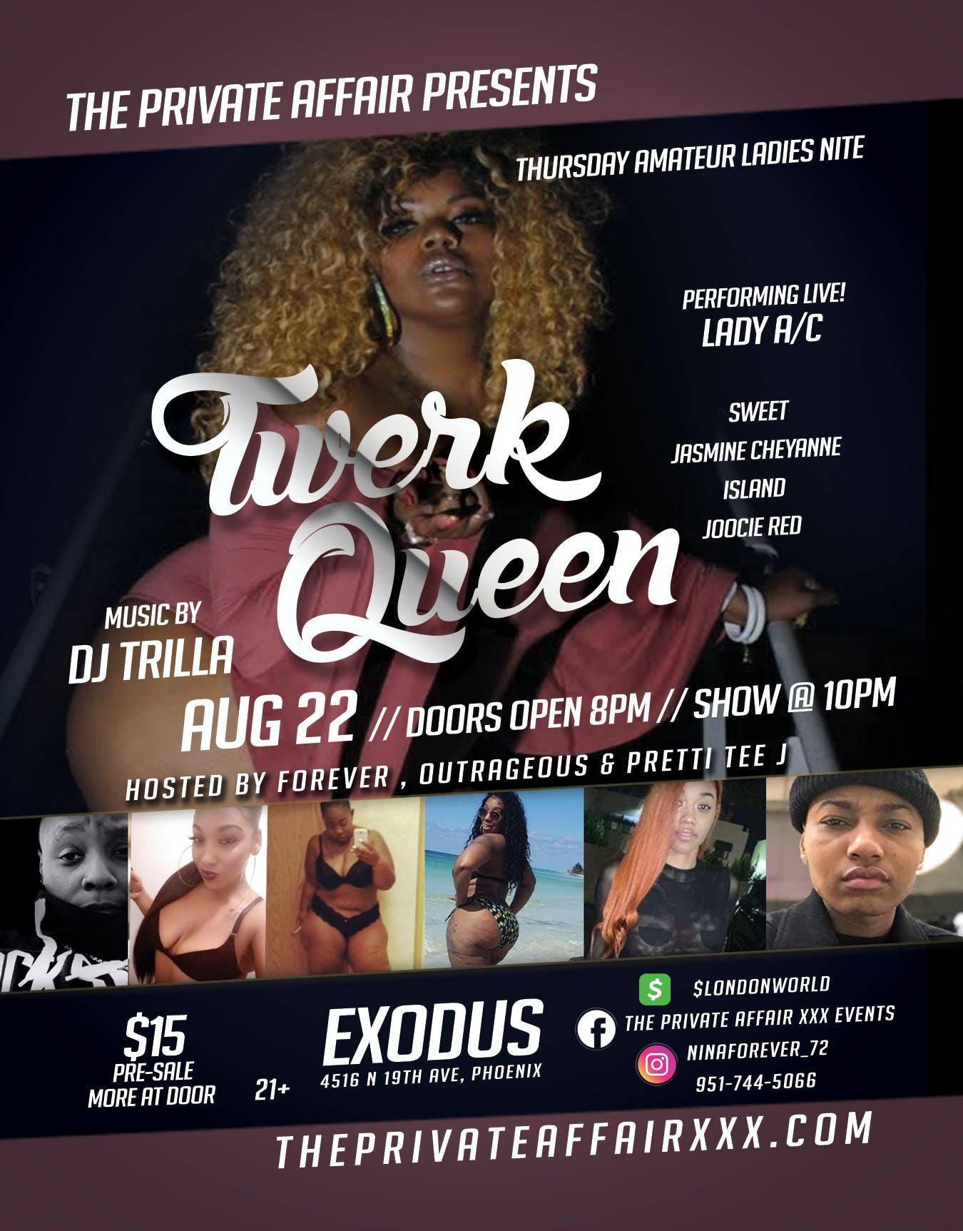 Twerk Queen Contest