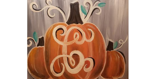 Brushes & Brews - Pumpkins
