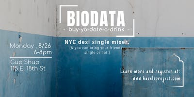Biodata [Desi Single Mixer]