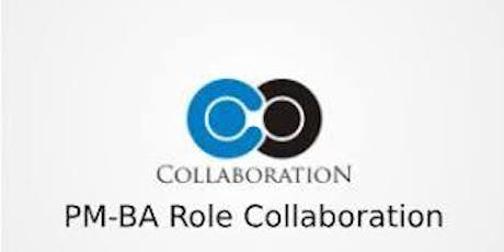 PM-BA Role Collaboration 3 Days Training in Mississauga tickets
