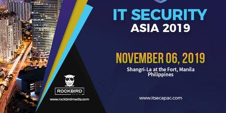 IT Security APAC 2019 | Rockbird Media tickets