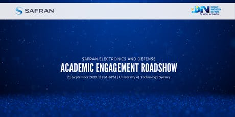 Safran Academic Engagement Roadshow tickets