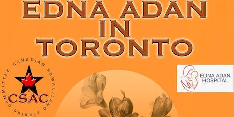 The Resilience of a Community - Edna Adan in Toronto (Student Ticket ) tickets