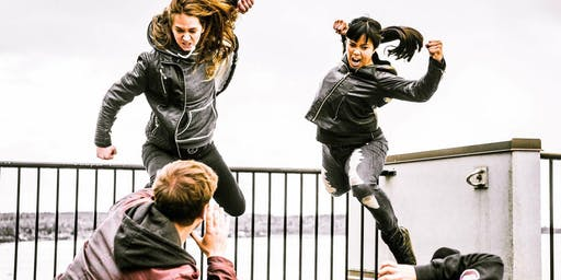 STAGE COMBAT FOR IMPROVISORS with Jackie T Hanlin & Nathania Bernabe