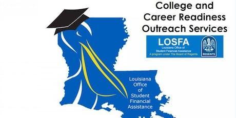 College Bound 101- LOSFA Financial Aid Seminar/ TOPS tickets