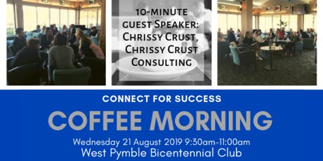 Coffee Morning with Connect for Success - North Shore tickets
