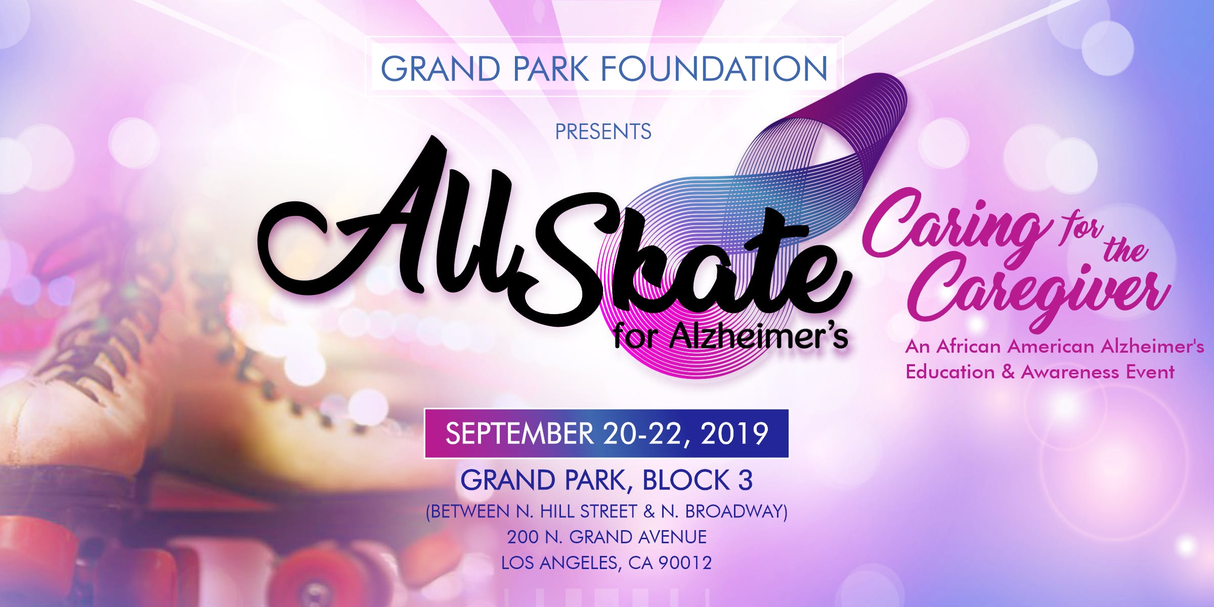 "All Skate for Alzheimer's: ""Caring for the Caregiver"""