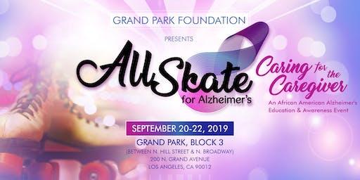 "All Skate for Alzheimer's: ""Caring for the Caregiver"""