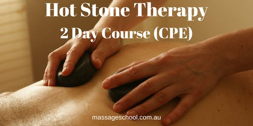 Hot Stone Therapy - 2 Day CPE Event