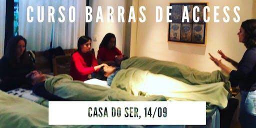 Curso Barras de Access // 14 de setembro // Casa do Ser