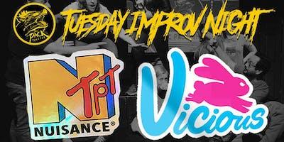 Pack Improv Night: Vicious & Nuisance