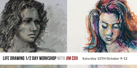 Life Drawing 1/2 Day Workshop with Jim Cox tickets