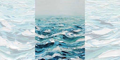 Brew N Brush: Breaking Waves