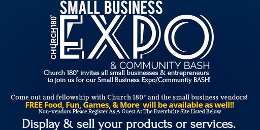 Church 180 Small Business Expo and Community Bash