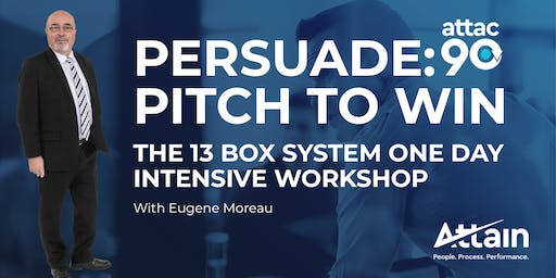 PERSUADE: Pitch To Win One Day Intensive HAMILTON