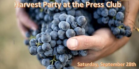 Harvest Party at Press Club tickets