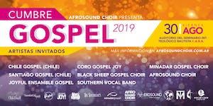 CUMBRE GOSPEL 2019 - Viernes 30/Agosto, 20:00 hs